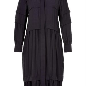 And Less - Kjole - Berneice Dress - Deep Well