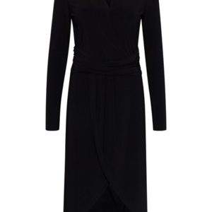 Ichi - Kjole - IX Lima Long Dress - Black