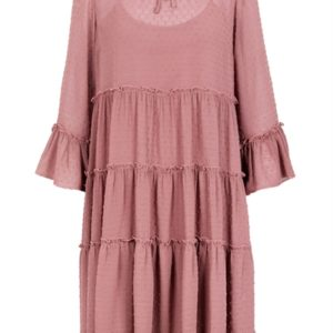 Y.A.S - Kjole - Mirena LS Dress - Burnished Lilac