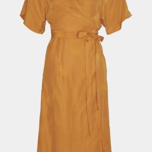 Ami long dress - Gestuz - ORANGE M