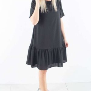 Carli Dress - Black - Gestuz - Sort XS