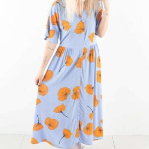 Cloudy - Air Blue - Moves - Blomstret XS