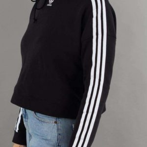 Cropped Hoodie CY 4766 - Black - Adidas Originals - Sort XS