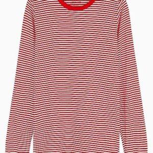 Organic Favorite Stripe Trimmy Long - Stribet - Mads Nørgaard - Stribet XS