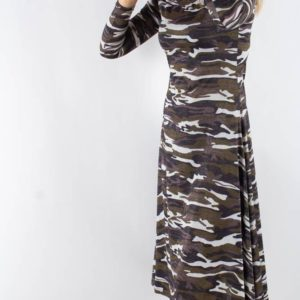 Paris Dress - Camouflage - Résumé - Camouflage XS