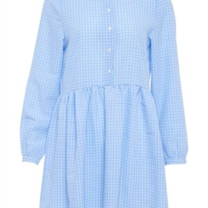 Noella - Kjole - Vora Dress - Blue/White Checks