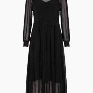 Thora Lucia Dress - Black - Bruuns Bazaar - XS Sort