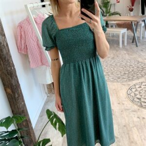 Y.A.S - Kjole - Nona 2/4 Midi Dress - Pale Aqua