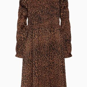 Julie LS. Dress AV1570 - Leopard - A-View - Leopard 34