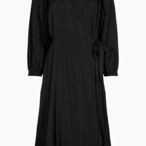 Missu Midi Dress - Black - Moves - Sort XS