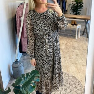 A-View - Kjole - Jidaline Long Dress - Leopard