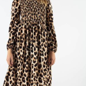 Ivala maxi Dress - Cocoon - Moves - Leopard XS