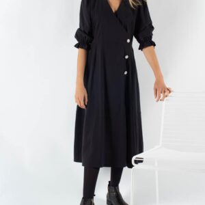 Mamos Maxi Dress - Black - Moves - Sort XS