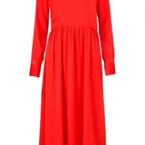 Modström - Kjole - Noelle Dress - Fire Red
