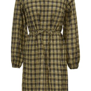 Modström - Kjole - Truly Dress - Black Khaki Check