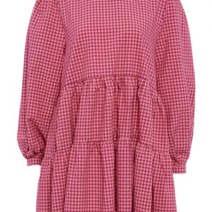 Noella - Kjole - Tif Dress - Pink Checks