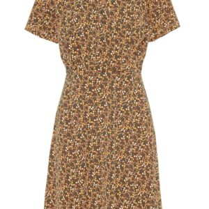 Pieces - Kjole - PC Emanuelle SS Dress - Cobber Brown