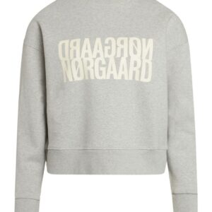 Mads Nørgaard - Sweat - Tilvina P - Light Grey Melange