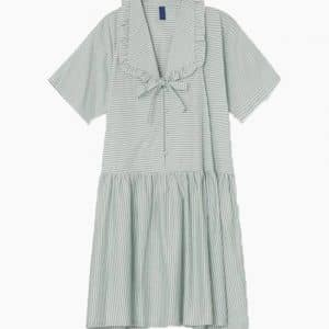 DelmaraRS Dress - Dusty Green - Résumé - Grøn XS